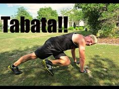 Fat Blasting Tabata Workout! 4 minute Calorie Scorcher - YouTube