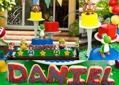 Super Mario Bros Party #supermario #party
