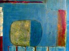 """""""Am See""""  60 x 80 cm Acrylgemälde von Walburga Schild-Griesbeck   Abstrakte Malerei http://www.walburga-schild-griesbeck.de http://www.atelier-freiart.de"""