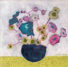"Saatchi Art Artist Sandrine Pelissier; Painting, ""In Colombo"" #art"