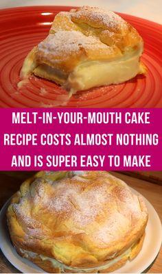 Baking Recipes, Cake Recipes, Dessert Recipes, Good Food, Yummy Food, Grilled Pork, Diy Food, Yummy Cakes, Food Hacks