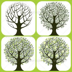 Tree Icons  #GraphicRiver         4 tree icons. Eps 10 and Ai CS 3 included.     Created: 20July13 GraphicsFilesIncluded: VectorEPS #AIIllustrator Layered: No MinimumAdobeCSVersion: CS3 Tags: back #blossom #botany #branch #bud #bush #distressed #environment #forest #front #garden #green #growth #harmony #illustration #leaf #life #nature #object #peace #plant #root #rough #set #silhouette #summer #symbols #tree #vector #wood