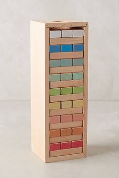 colored Tumbling Tower Blocks