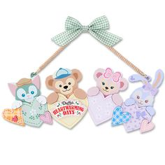 Duffy and friends Duffy The Disney Bear, Disney Love, Walt Disney, Pooh Bear, My Melody, Wall Patterns, Pixar, Bunny, Kitty