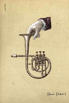 © Denis Dubois, Symphonie interrompue.