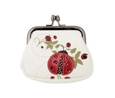 Runway Culture - Anna Nova Lady Bug Delight White Coin Purse (http://www.runwayculture.com.au/anna-nova-lady-bug-delight-white-coin-purse/)