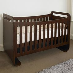 Nature's Purest Cot Bed - Walnut