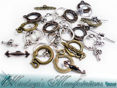 {20} Toggle Clasp Sets ~ Mixed Metals. Starting at $5 on Tophatter.com!