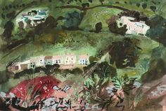 The John Piper exhibition opened on Saturday with a private viewing at the Bohun Gallery in Reading Road. Famous for his romantic landscapes, views of ruin...