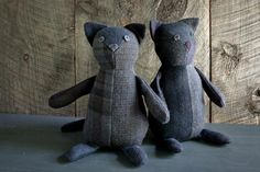 Wool Patchwork Cat | The Purl Bee