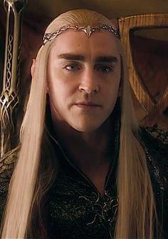 King Thranduil not amused...