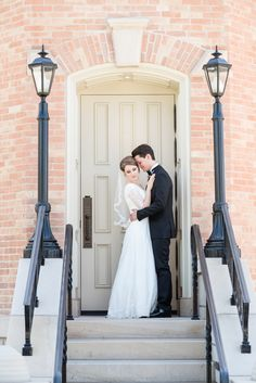 Provo City Center Temple LDS Wedding by Michelle & Logan
