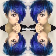 Petrol blue pixie colour