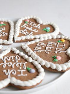 Lebkuchen Herzen von Baking My Way auf DaWanda.com