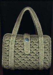 Paperback Tote By Priscilla Hewitt - Free Crochet Pattern - (members.aol)