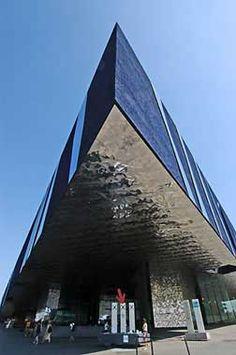 The Forum Building (Museu Blau de les Ciències Naturals), Barcelona, 2005   Herzog & de Meuron