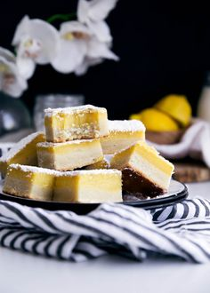 Giving regular ol' lemon squares a facelift in these zippy Ginger Lemon Bars with my absolute favorite cream cheese shortbread crust.