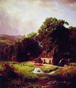 "New artwork for sale! - "" The Old Mill by Albert Bierstadt "" - http://ift.tt/2oTksY2"