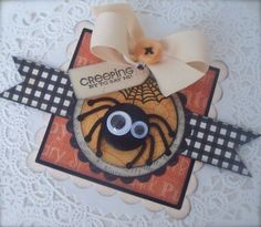cute spider tag