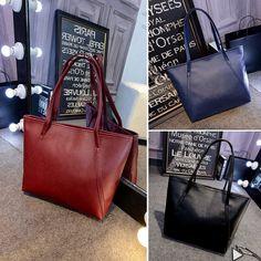 Women Leather Bucket Shoulder Bag