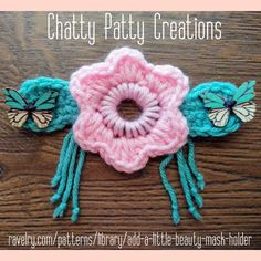 Just because things are crazy and ugly right now, does not mean we can't create something beautiful from it. Crochet Mask, Crochet Faces, Cute Crochet, Plastic Canvas Tissue Boxes, Plastic Canvas Patterns, Crochet Wallet, Knitting Patterns, Crochet Patterns, Yarn For Sale