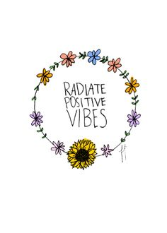 Negativity Kills A Good Vibe.