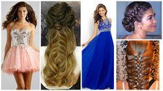 Peinados para graduacion con vestidos