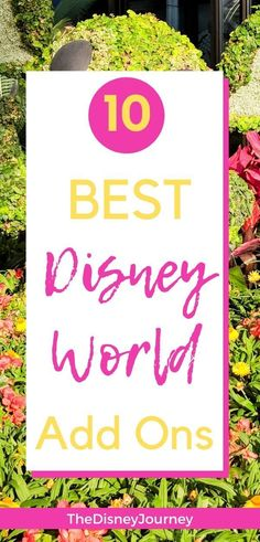 Here are the best Disney add ons you can do to make your Disney trip even better. Understanding these enhancements can add all bit of extra magic to your Disney vacation planning. So head on over and see what this group of Disney bloggers recommends as the best Disney World add ons. #disneyaddons #bestdisneyaddons #disneyenchantingextras #disneytips #disneyvacationplanning Disney World Secrets, Disney World Rides, Walt Disney World Vacations, Disney World Tips And Tricks, Disney Tips, Disney Parks, Disney Worlds, Disney Stuff, Disney Vacation Planning