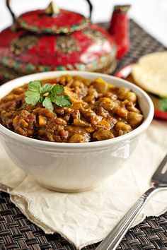 Sweet Potato and Chickpea Curry | heatherlikesfood.com #meatless #monday #curry