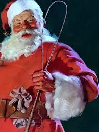 Saint Nicholas, Kris Kringle, Father Christmas or Santa Claus, a mythical name for a mythical figure? Belief in a thing, you can't see shows great character. So Santa Claus is a bringer of good times, feasting, giving and receiving and joy to the world! Darn tooting I believe in such a figure! I believe in Santa Claus!