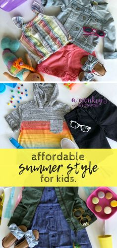 affordable summer style for kids // #DareToSummer #Crazy8Partner #Crazy8Kid #Crazy8 #summerstyle #kidsummerstyle #kidsootd #toddlerstyle #babygirlstyle
