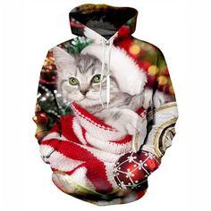Christmas Kitty H... http://www.jakkoutthebxx.com/products/jakkoutthebxx-21-styles-new-3d-hoodie-christmas-cat-dog-wolf-galaxy-space-fleece-hood-sweatshirt-unisex-drawstring-pockets-hoody-tops-dropship-christmas-cat?utm_campaign=social_autopilot&utm_source=pin&utm_medium=pin #newclothingline #shoppingtime  #trending #ontrend #onlineshopping #weloveshopping #shoppingonline