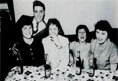Elvis in Deutschland 1959  When Elvis to visit in the Goethestraße 14, in Bad Nauheim, Germany on 19, 1959 the winners of a contest of the Journal Star Revue. It was also Very much fun.