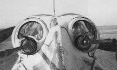 Ju-88A-4 rear cockpit