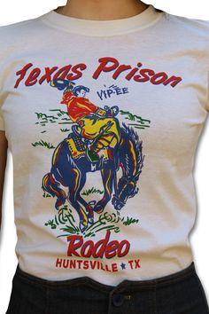 Texas Prison Rodeo Tee