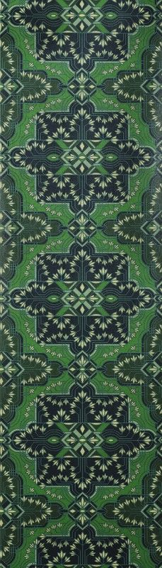 Majorelle Wallpaper colour Emerald from the Majorelle collection by Catherine Martin by Mokum available from James Dunlop Textiles. Luxury Wallpaper, New Wallpaper, Washable Wallpaper, Wallpaper Stores, Embossed Paper, Paint Effects, Wall Treatments, Color Photography, City Photo