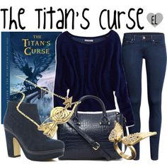 The Titan's Curse -- Percy Jackson & The Olympians