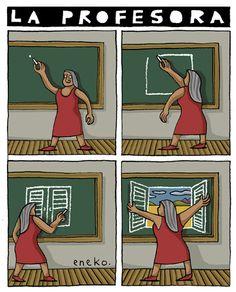 Ser una profesora!