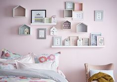 Décoration murale - Idées déco cadres déclic Sweety Boy Girl Room, Student Room, Baby Decor, Kids Bedroom, Room Inspiration, Room Decor, House Design, Sweet, Bedroom Remodeling