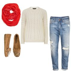 How to Wear Moccasins --> love this look and ADORE the scarf. thank you