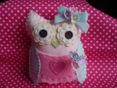 Owl pincushion by @Tasha Adams Adams Adams Pod