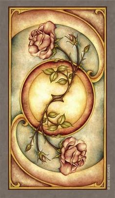 I have the Fenestra tarot deck. They're incredibly beautiful and I love working with them. This is the image on the back of the cards. #tarotcardsart