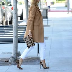 Street Style ✨ how to transition white jeans right in to Fall @liketoknow.it www.liketk.it/1EVPi #liketkit