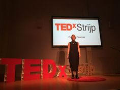 @TAKEaCiCi enters the #TEDxStrijp stage about an indecisive future - good stuff!