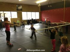 Kids Crossfit WOD. Crossfit birthday party.