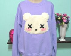 Pastel Goth Kawaii Grunge Deaddy ours par magiccircleclothing