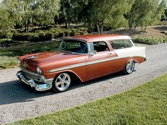 Station Wagon Cars, Chevy Nomad, Old Wagons, Old Classic Cars, Hot Rod Trucks, Chevrolet Bel Air, Amazing Cars, Drag Racing, Hot Cars