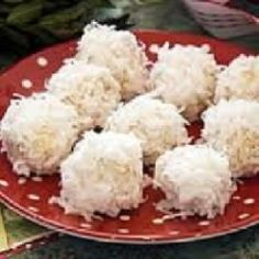 Almond Coconut Christmas No Bake Cookies