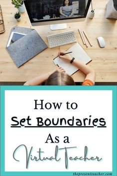 Are you teaching virtually and feeling teacher burnout? Click now to read how Boundaries can save your teaching career. Social Studies Lesson Plans, Math Lesson Plans, Teacher Blogs, Teacher Hacks, Teacher Resources, Teaching Career, Teaching Ideas, 1st Year Teachers, English Lesson Plans