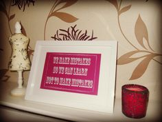 Home Decor and Gifts - Designed By Vikki Anne Framed Wall Art Picture - We Make Mistakes